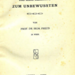 1905 Freud pubblica Il motto di spirito e la sua relazione con l'inconscio