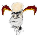 Sigmund Freud sta uscendo dai libri di testo di psicologia