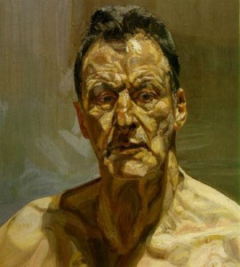 Lucian Freud Autoritratto