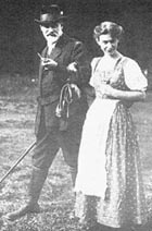 Freud e la figlia Anna