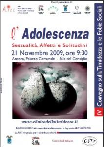 2009 Convegno Adolescenza