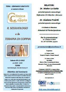 Il Sessuologo e la Terapia di Coppia Terni