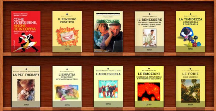 libri pubblicati da Giuliana Proietti e Walter La Gatta