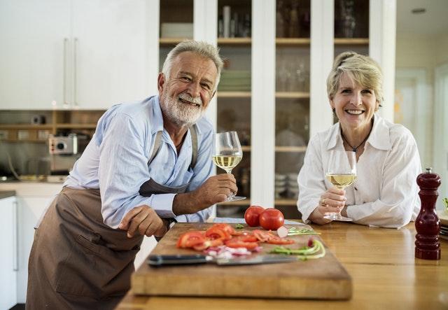 La coppia anziana