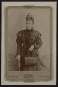 Amalia Freud anziana