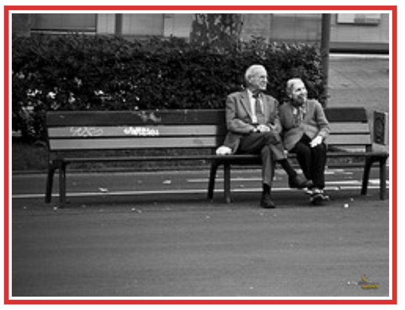 anziani ottimisti