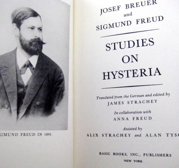 Freud - Studi sull'isteria (1895)