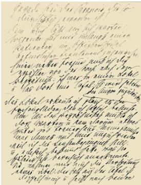 lettera di Freud a Fliess