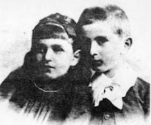 Dora e il fratello Otto Braun