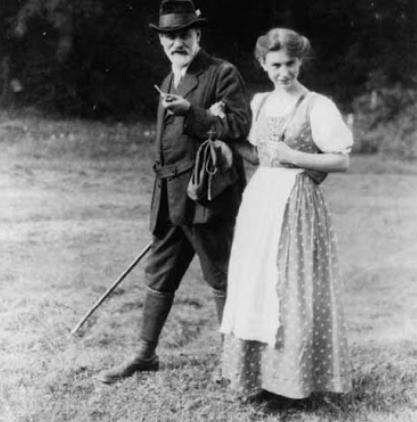 Freud e Anna a Lavarone