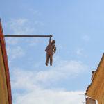 Sigmund Freud 'impiccato' in una Galleria d'Arte