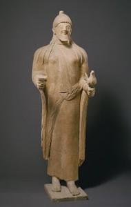 Statua di un prete