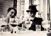 Anna e Sigmund Freud