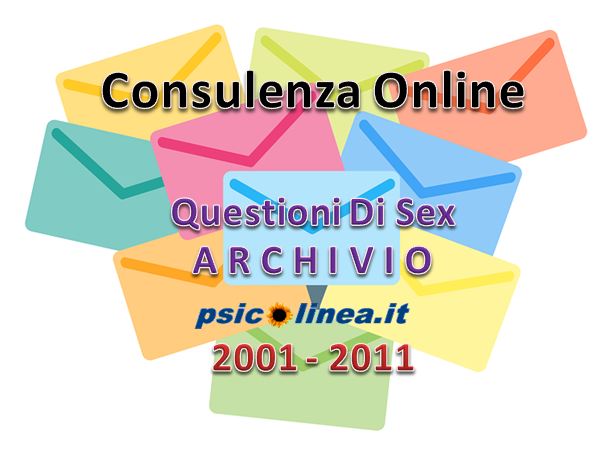 Consulenza online Questioni di sex Archivio Storico