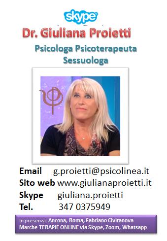 Giuliana Proietti psicologa